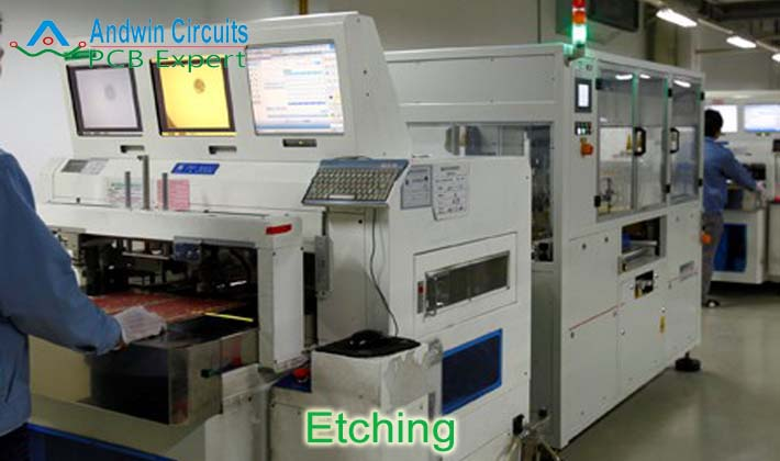 Etching machine