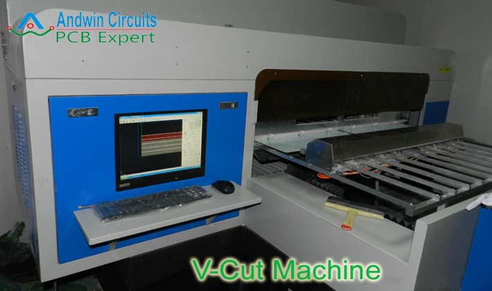 v-cut machine