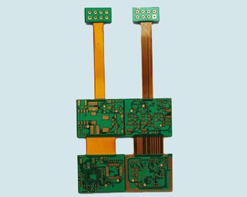 Rigid flexible circuit board