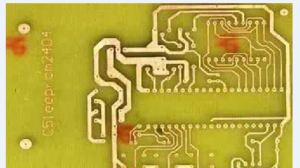 Etching process of PCB