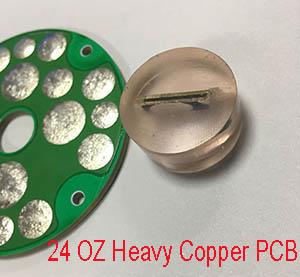 24 OZ heavy copper pcb
