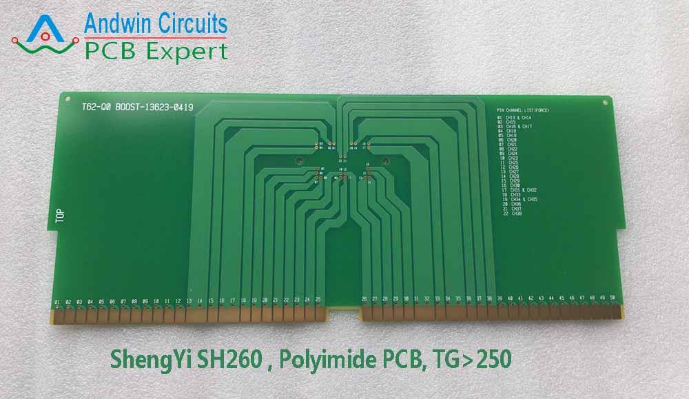 SH260 PCB Polymide laminate material